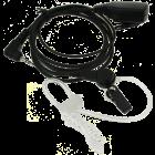 Security oortje met akoestische buis en PTT voor ALINCO/PD365