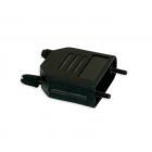 D-Sub connectorkap, zwart (15 polig)