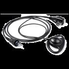 KHS-47 Hoofdtelefoon met oorstuk (D-stijl) & microfoon