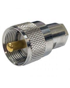 Adapter FME naar PL-259 Male UHF