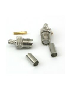MINI-UHF (Female) RG-58 Crimp Connector