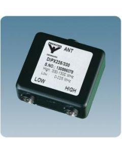 BNC Diplexer 225/330 voor 0-225Mc / 330-1300