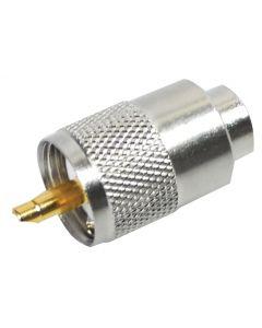 PL-259/9 9mm PL-259 COAX Antenne Fiche - 50 Ohm