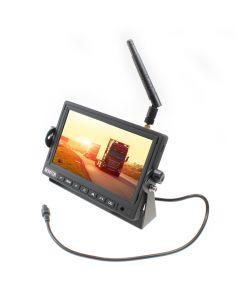 WRV-MON-7 - 7 Inch monitor voor draadloze achteruitrijcamera's