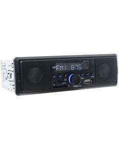 4-MP200BT 1DIN Radio met Bluetooth Audio