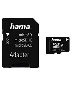 Micro SD Kaart 16GB met SD Adapter