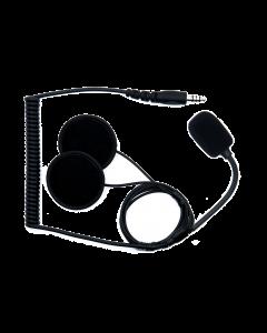 RHK-J-P-B Jet Helmet Kit Platte Luidsprekers Peltor