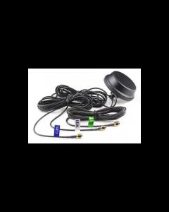 Combi antenne 4G WiFi GPS | 4G antenne | LTE antenne | WiFi antenne | GPS antenne | puck antenne | vandalismebestendige antenne | 0-3 dBi / 4 dBi / 28 dBi | 3 x 3 meter kabel | SMA Male