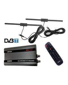 ARA-620 DVBT-DVB-T2 /AC3 Auto TV Ontvanger