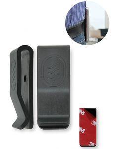 Clip-01 Universele Riemclip voor GSM's, Walkie-talkies, draadloze toestellen (10 stuk)