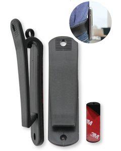 Clip-03R Universele Riemclip voor GSM's, Walkie-talkies, draadloze toestellen (2 PACK)