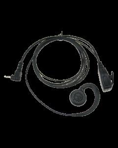 C-type oortelefoon met PTT voor ALINCO/PD365