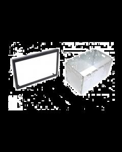 2-DIN frame universeel metalen kist 113 X 183,5mm