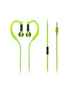 Gaudy - Universele Vibrant In-Ear Sport headset (Groen)