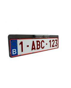 Bevestigingssteun / Nummerplaat houder voor draadloze achteruitrijcamera (BC™ 40)