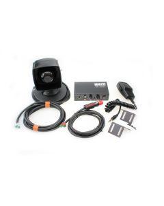 PA Luidspreker op Magneetvoet met Mobiele versterker (Pack)