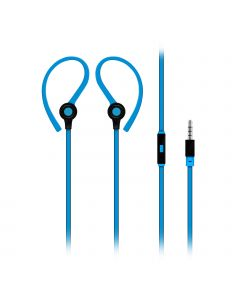Jazzy - Universele Clip-On Earbuds Sport headset (Blauw)