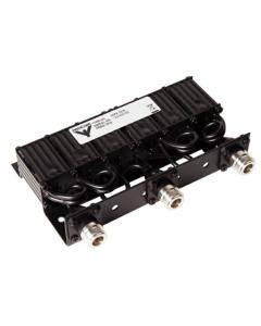MPX-70/6 - 6-Resonator Mini-duplexer voor de 450 MHz-band