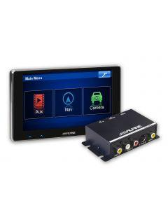 TME-S370    6,5 inch kleur touchscreen