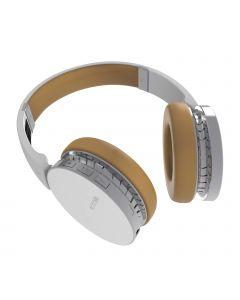 Waves Draadloze Over-Ear Stereo Headset / Koptelefoon (Wit)