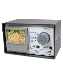 Zetagi Mod-700 SWR-power meter cross needle