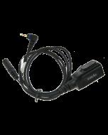 ACS01 PTT & Mic kabel zonder oortje voor PD-3x series