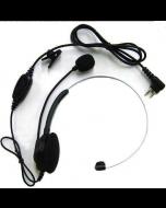 ECM08 lichtgewicht headset met boom microfoon voor TC610