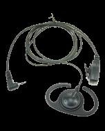 Verstelbare D-type luidspreker met PTT voor ALINCO/PD365