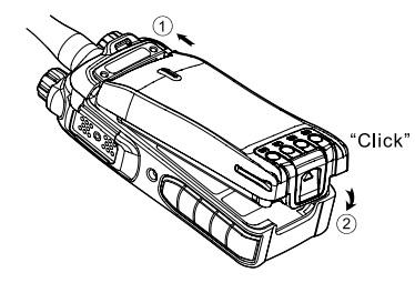 Hytera BL2008 vervangen, losmaken en opladen
