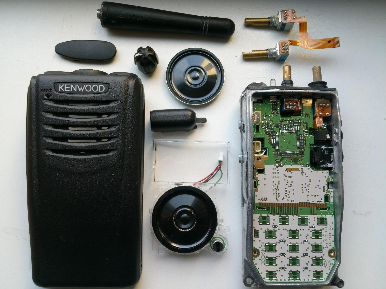 Kenwood NX-320e3 defect herstellen