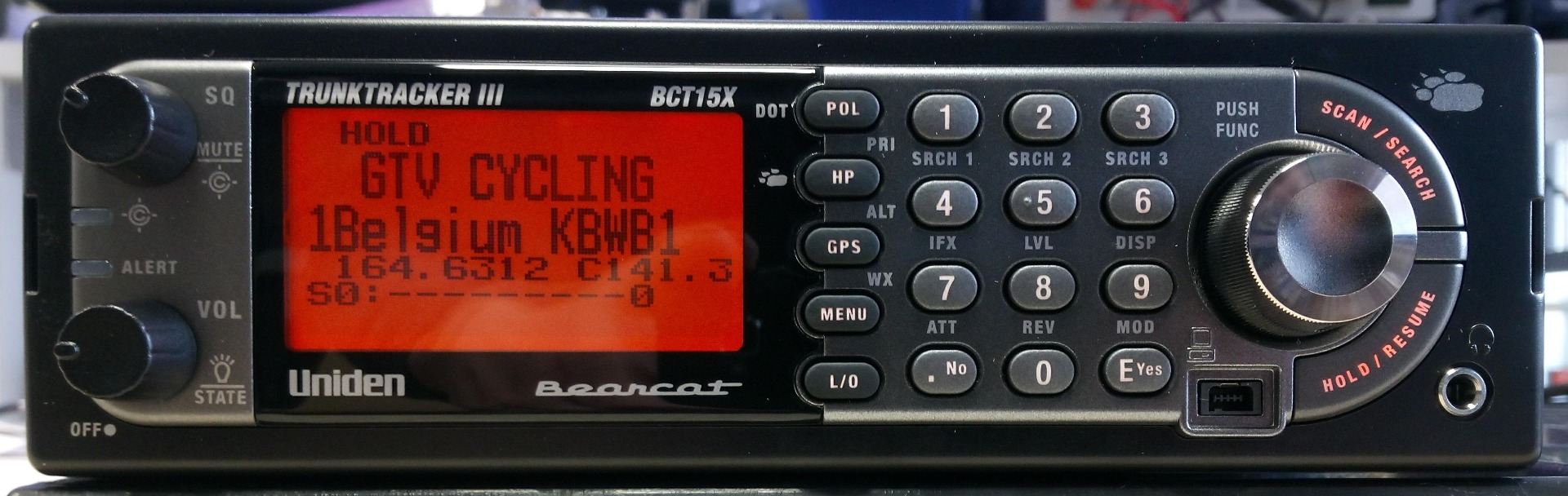 uniden bct15x scanner bearcat ubc radio tour ontvanger